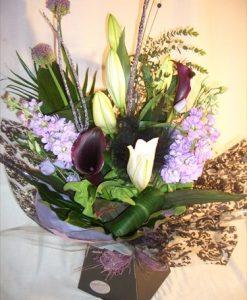 classic purple flowers